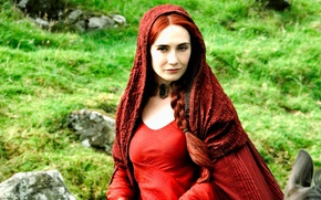 Картинка red, red hair, woman, redhead, A Song of Ice and Fire, Game of Thrones, horse, …