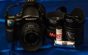 Картинка фотоаппарат, объективы, Mamiya, 645 AFD