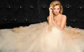 Картинка платье, блондинка, певица, Татьяна Котова