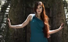 Картинка лето, модель, платье, Elena