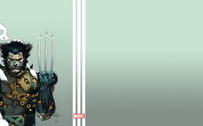 Картинка metal, Logan, wolverine, x men, claws