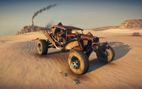 Картинка car, game, desert, Mad Max