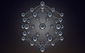 Картинка кристалл, структура, решетка