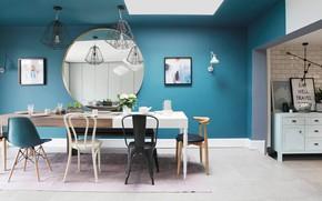 Картинка комната, интерьер, столовая, Home in Dublin, by Kingston Lafferty Interior Desig