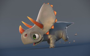 Картинка арт, детская, jonfer maia, динозапврик, Baby Dino