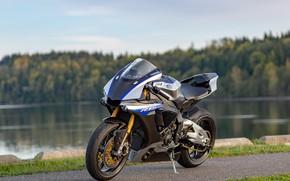 Обои дизайн, мотоцикл, бритва, стиль