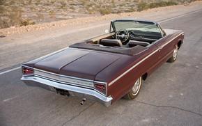 Картинка Dodge, 1965, Convertible, Вид сзади, Custom 880
