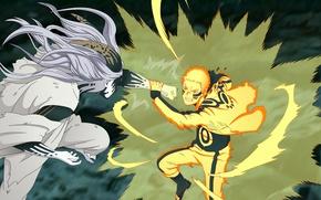 Картинка battlefield, game, Naruto, war, anime, man, ninja, asian, manga, shinobi, japanese, god, Uzumaki Naruto, oriental, ...