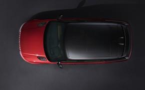 Картинка крыша, фон, сверху, Land Rover, чёрно-красный, Range Rover Sport Autobiography