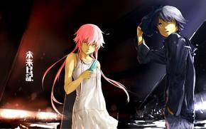 Картинка anime, asian, manga, japanese, oriental, asiatic, Future Diary, Mirai Nikii