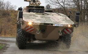 Картинка weapon, armored, boxer, military vehicle, armored vehicle, armed forces, military power, war materiel, 084