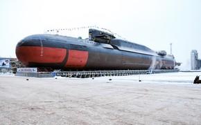 Обои Новомосковск, назначения, подводный, стратегического, крейсер, атомный, ракетный, К-407