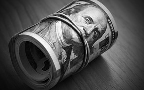 Картинка dollar, paper, roll