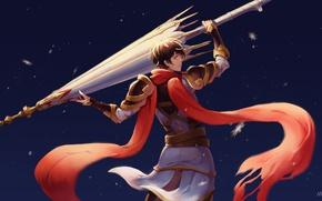 Картинка armor, weapon, umbrella, anime, asian, player, chinese, oriental, asiatic, The Kings Avatar, Quan Zhi Gao …