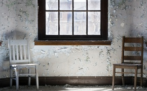 Картинка комната, стулья, окно