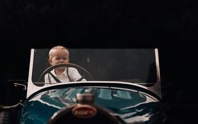Картинка машина, ребенок, мальчик, малыш