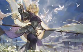 Картинка девушка, аниме, арт, fate/grand order, fate/apocrypha