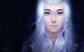 Картинка девушка, арт, fantasy