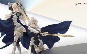 Картинка оружие, меч, аниме, арт, fire emblem