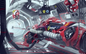 Картинка транспорт, конструкция, F1 RACER