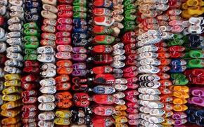Обои фон, обувь, цвет