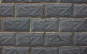 Картинка стена, камень, плитка, текстура