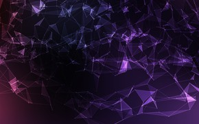 Обои vector, abstract, background, violet, mesh