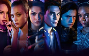 Картинка Riverdale, Veronica Lodge, Camila Mendes, Betty Cooper, Cole Sprouse, Lili Reinhart, Ривердэйл, Cheryl Blossom, Madelaine …