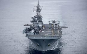 Картинка USS Essex, десантный корабль, LHD 2