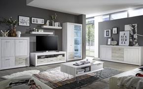 Картинка стиль, интерьер, жилая комната