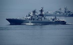 Картинка противолодочный корабль, вмф, проект 1155, адмирал трибуц