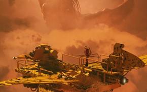 Картинка чудовище, аппарат, The Leviathan