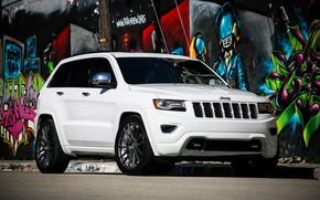 Картинка lights, Grand, wheels, with, and, Jeep, Luxury, Cherokee, lowered, smoked