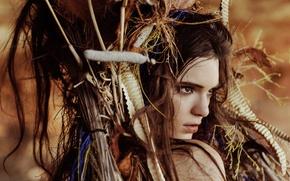 Картинка взгляд, девушка, модель, Kendall Jenner