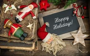 Картинка украшения, игрушки, елка, Новый Год, Рождество, Christmas, vintage, wood, Merry Christmas, Xmas, gift, decoration, holiday …
