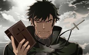 Картинка anime, cross, asian, japanese, asiatic, Monogatari, Monogatari Series