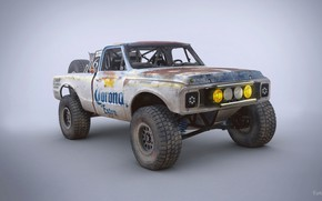 Обои Chevrolet C10, Trophy Rat, автомобиль