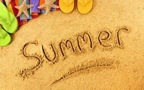Картинка пляж, лето, природа, отдых, отпуск, summer, beach, nature, vacation, recreation