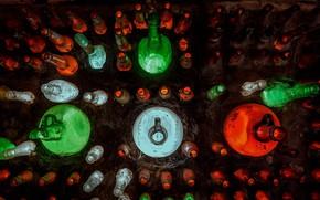 Картинка фон, цвет, бутылки
