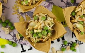 Обои Asian coleslaw, Азиатский салат из капусты, Еда
