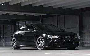Картинка Audi, Машина, Бампер, Фары, RS5, Диски, Значок, Senner Tuning