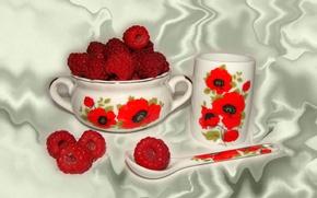 Картинка малина, обои, натюрморт, авторское фото Елена Аникина