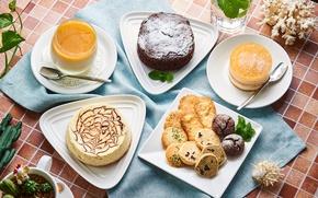 Картинка пирожное, ассорти, десерты