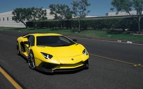 Картинка Lamborghini, Aventador, Rotiform DVO