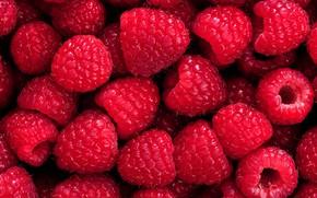 Картинка малина, ягода, спелая, вкусная