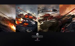 Картинка World of Tanks, Dmitry Grishaev, USA tanks