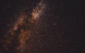 Картинка небо, космос, звезды, галактика