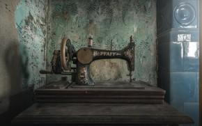 Картинка фон, швейная машинка, pfaff