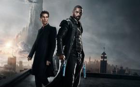Картинка cinema, gun, weapon, man, movie, evil, film, Idris Elba, revolver, protector, Matthew McConaughey, guardian, Roland …