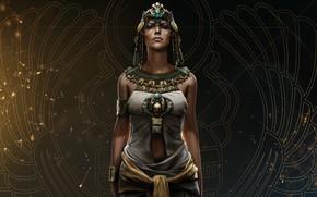 Обои Assassin's Creed: Origins, Origins, Assassin's Creed, Ubisoft, Cleopatra